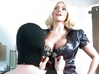 Mistress and her sissy maid have a freaky party BDSM