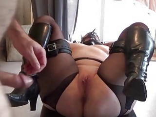 Cutie with big titties gets pussy fingered and fucked hard