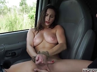 Filthy naked girl enjoys rough bondage and nasty BDSM fuck