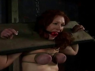 Tight ties do more than just keep her bound BDSM