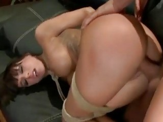 BDSM bondage slut ass fucked super deep by the master