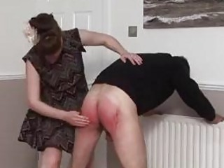 Male Spanking time with naughty slave and horny BDSM mistress