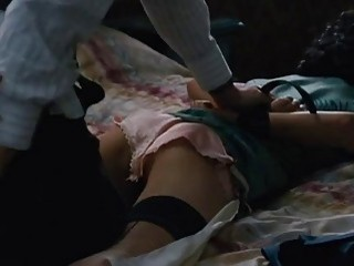 Asian chick seduces mature man and gets pounded real hard