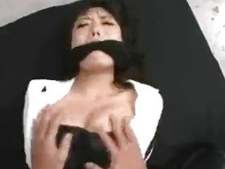 Sluty Asian loves BDSM and being treated like a slave