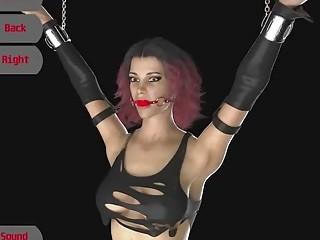 Bdsm video 3d Brutal torture