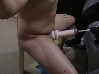Amateur loves BDSM and having her pussy fucked by machine