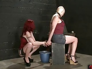 Submissive lesbian enjoys BDSM and face sitting from her mistress