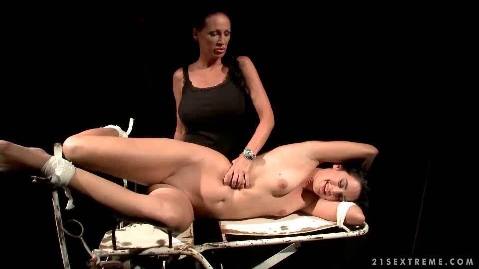 Mistress Fucks Her Slave Dildo