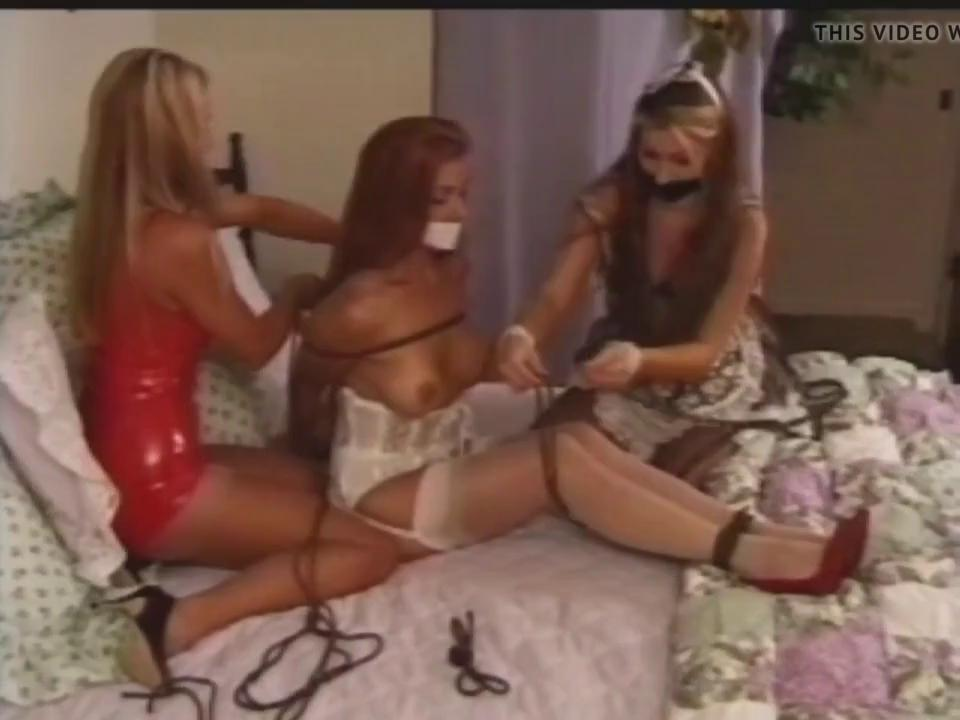 Tied Up Gangbang Creampie